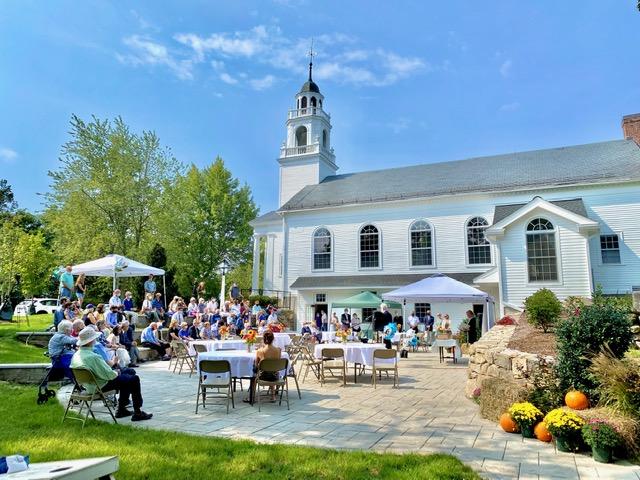 HOLLIS CONGREGATIONAL CHURCH GRAND REOPENING DEDICATION CEREMONY SEPTEMBER 12, 2021