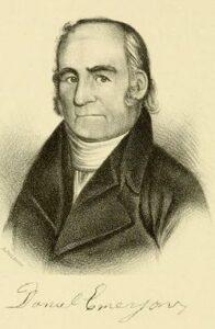 Rev. Daniel Emerson